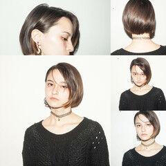 ナチュラルグラデーション モード ナチュラルベージュ オフィス ヘアスタイルや髪型の写真・画像