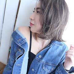 サロンモデル デニム サロモ 撮影 ヘアスタイルや髪型の写真・画像
