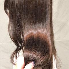 大人可愛い セミロング ガーリー ナチュラル可愛い ヘアスタイルや髪型の写真・画像