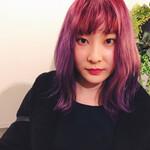 ラベンダーピンク ミディアム モード ピンク
