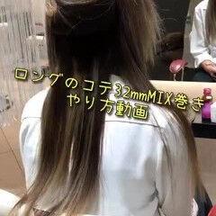 外国人風カラー デート ヘアアレンジ ガーリー ヘアスタイルや髪型の写真・画像