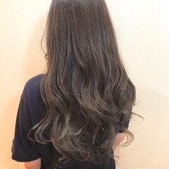 外国人風カラー エレガント ロング グラデーションカラー ヘアスタイルや髪型の写真・画像