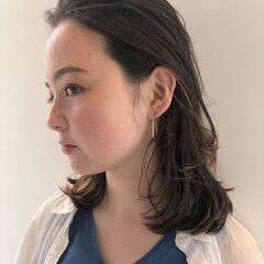 インナーカラー ナチュラル ボブ ナチュラルブラウンカラー ヘアスタイルや髪型の写真・画像