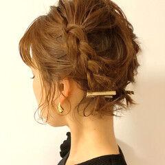 ヘアアレンジ ミニボブ 簡単ヘアアレンジ ショートボブ ヘアスタイルや髪型の写真・画像