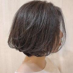 ショートボブ ボブ 40代 30代 ヘアスタイルや髪型の写真・画像