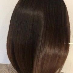 髪質改善トリートメント ボブ モテボブ ヘアケア ヘアスタイルや髪型の写真・画像