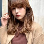 ガーリー ミディアム モテ髪 デート