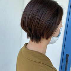 ベリーショート ショート 艶髪 爽やか ヘアスタイルや髪型の写真・画像