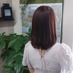 毛先パーマ ラベンダー ラベンダーカラー ナチュラル ヘアスタイルや髪型の写真・画像