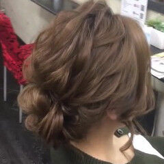 ヘアアレンジ 二次会 卒業式 結婚式 ヘアスタイルや髪型の写真・画像