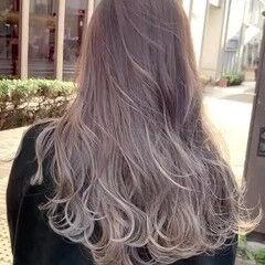 外国人風カラー ハイトーン 外国人風 秋冬スタイル ヘアスタイルや髪型の写真・画像