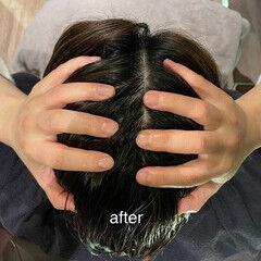 ヘッドスパ 髪質改善トリートメント 頭皮ケア ヘアケア ヘアスタイルや髪型の写真・画像