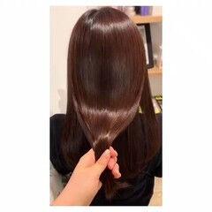 ツヤ髪 髪質改善 ナチュラル 髪質改善トリートメント ヘアスタイルや髪型の写真・画像