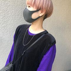 ショートヘア ショート 刈り上げ女子 ミニボブ ヘアスタイルや髪型の写真・画像