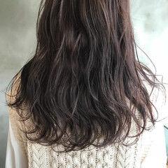 オーガニック グレージュ ナチュラル シアーベージュ ヘアスタイルや髪型の写真・画像