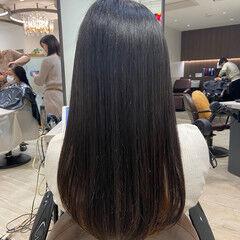 大人可愛い 可愛い 髪質改善トリートメント ナチュラル ヘアスタイルや髪型の写真・画像