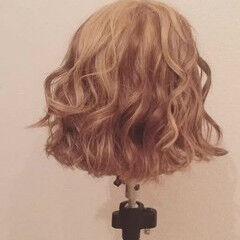 ヘアアレンジ ボブ ギブソンタック ヘアスタイルや髪型の写真・画像