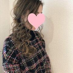 ヘアアレンジ ロング サイドアップ 編み込み ヘアスタイルや髪型の写真・画像