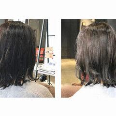 ナチュラル 秋冬スタイル oggiotto 透明感カラー ヘアスタイルや髪型の写真・画像