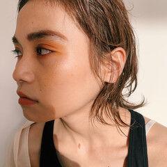 コスメ・メイク ガーリー ミディアム メイクテク ヘアスタイルや髪型の写真・画像