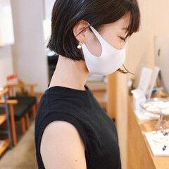 黒髪 ショート モード 黒髪ショート ヘアスタイルや髪型の写真・画像