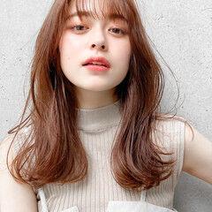 ナチュラル モテ髪 デジタルパーマ 外ハネ ヘアスタイルや髪型の写真・画像