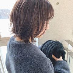 前髪・後れ毛・顔周りこだわり◎ 北野愛さんが投稿したヘアスタイル