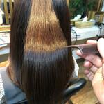 ナチュラル 縮毛矯正 髪質改善 髪質改善カラー