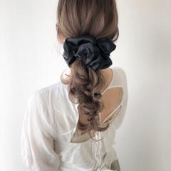 ナチュラル ショコラブラウン ロング 大人可愛い ヘアスタイルや髪型の写真・画像