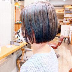アッシュベージュ ミント ミントアッシュ アッシュグレー ヘアスタイルや髪型の写真・画像