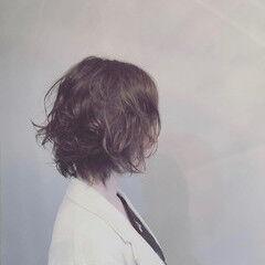簡単スタイリング フェミニン デート クセ ヘアスタイルや髪型の写真・画像