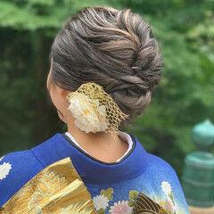 ブリーチカラー ハイライト フェミニン ロング ヘアスタイルや髪型の写真・画像