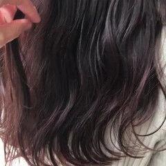 ロング レッドブラウン ナチュラル 赤茶 ヘアスタイルや髪型の写真・画像