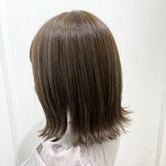 切りっぱなしボブ ボブ ナチュラル ミニボブ ヘアスタイルや髪型の写真・画像