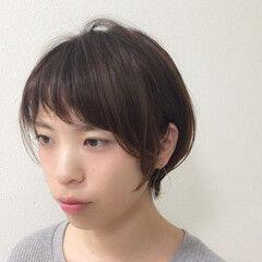 大人かわいい スポーツ 小顔 似合わせ ヘアスタイルや髪型の写真・画像
