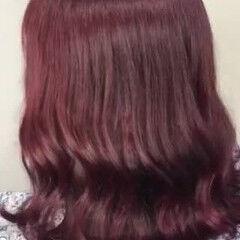 赤髪 可愛い ガーリー ボブ ヘアスタイルや髪型の写真・画像