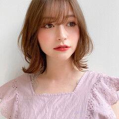 大人可愛い モテ髪 レイヤースタイル 愛され ヘアスタイルや髪型の写真・画像