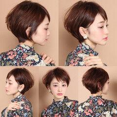50代 吉瀬美智子 ショート 40代 ヘアスタイルや髪型の写真・画像