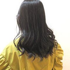 イルミナカラー ロング 外国人風カラー コンサバ ヘアスタイルや髪型の写真・画像