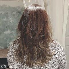 ロング ゆるふわ 大人かわいい デート ヘアスタイルや髪型の写真・画像