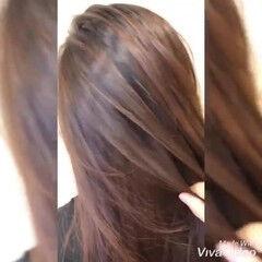暖色 暖色系グレージュ ガーリー 赤茶 ヘアスタイルや髪型の写真・画像