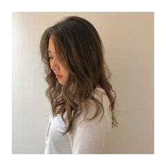 アイロンワーク フェミニン ナチュラル可愛い ロング ヘアスタイルや髪型の写真・画像