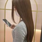 ナチュラル 艶髪 トリートメント 髪質改善トリートメント