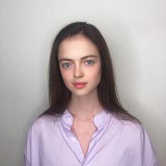 ナチュラル 外国人 白髪染め 外国人風 ヘアスタイルや髪型の写真・画像