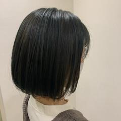 ショートヘア ナチュラル ボブ ベリーショート ヘアスタイルや髪型の写真・画像