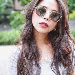 エレガント 外国人風 くせ毛風 上品 ヘアスタイルや髪型の写真・画像