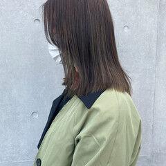 大人ハイライト アンニュイほつれヘア 3Dハイライト ナチュラル ヘアスタイルや髪型の写真・画像