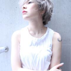 外国人風 ピュア ストリート モード ヘアスタイルや髪型の写真・画像