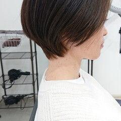 ショート デザインカラー 美シルエット インナーカラー ヘアスタイルや髪型の写真・画像