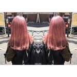 ピンク ハイトーン モード 春
